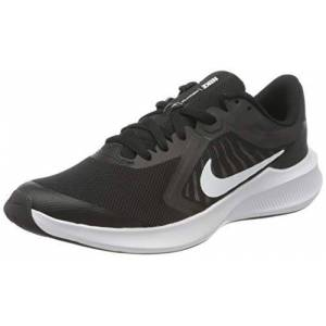 Nike Unisex Kid's Downshifter 10 (GS) Running Shoe, Black/White-Anthracite, 4.5 UK