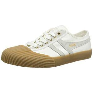 Gola Men's Monarch Trainers, Off-White (Off White/Gum Powder), 12 UK 46 EU