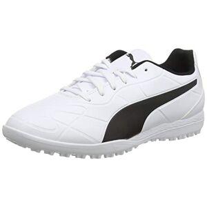 Puma Men's Monarch TT Football Shoe, White Black, 10 UK