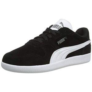 Puma Unisex's Icra Trainer Sd Sneakers, Black White, 10 UK