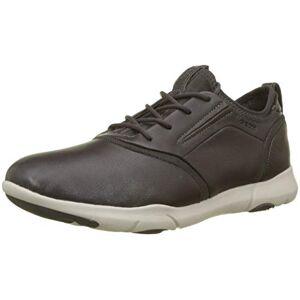 Geox Men's U Nebula S C Slip On Trainers, (Dk Coffee C6024), 10.5 UK