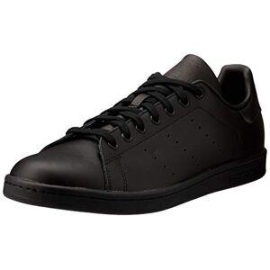adidas Stan Smith, Unisex Adult's Men's Trainers, Black, 10 UK (44 2/3 EU)