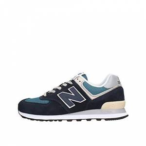 New Balance Men's ML574EGK Trainers, Blue (Dark Navy/Marred Blue ESS), 4.5 UK (37 EU)