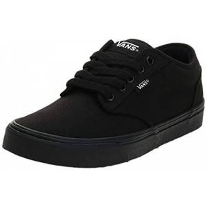 Vans Men's Atwood Canvas Low-Top Sneakers, Black (Black), 10 UK (44.5 EU)