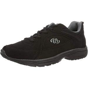 Brã¼tting Bruetting Unisex Adults Hiker Nordic Walking Shoes, Black (Black/Grey), 10 UK