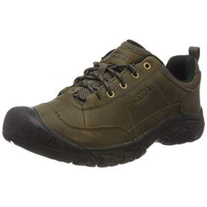 KEEN Men's Targhee III Oxford Hiking Shoe, Canteen/Black, 12 UK