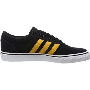 adidas Unisex Adults' Adi-Ease Gymnastics Shoe, Core Black/Tactile Yellow F17/Ftwr White, 12 UK