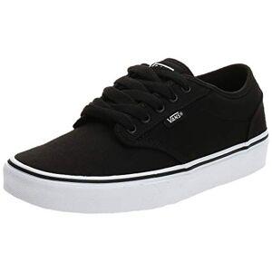 Vans Men's Atwood Canvas Low-Top Sneakers, Black (Blk / Wht 187), 10 UK (44.5 EU)