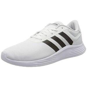 adidas Men's Lite Racer 2.0 Running Shoe, FTWR White/Core Black/FTWR White, 10 UK