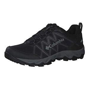 Columbia Men's Shoe' PEAKFREAK X2 OutDry Hiking Shoe, Black Ti Grey Steel, 14 UK