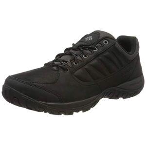 COLUMBIA Men's Hiking Shoes, RUCKEL RIDGE PLUS, Black (Black, Shark), Size: 12