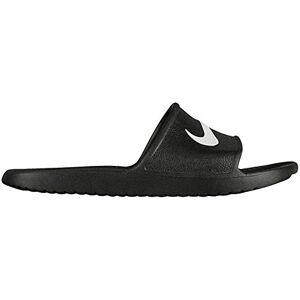 Nike Men's Kawa Shower Flip Flops, Black/White, 12 UK