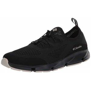 Columbia Men's Vent Walking Shoe, Black (Black, Dark Stone 010), 13 UK