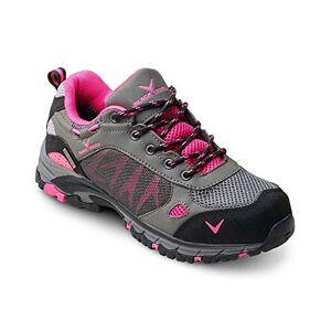 Black Crevice Women's Wander-& Trekkingschuhe, Grey/Pink, 4UK (36 EU)
