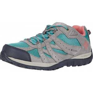 Columbia Youth Redmond Shoe, Green (Copper Ore, Coral Bloom 344), 6 UK
