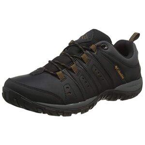 Columbia Men's Woodburn? Ii Walking Shoe, Black Black Goldenrod 010, 6.5 UK