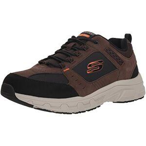 Skechers Men's Oak Canyon Sneakers, Brown (Chocolate Black Chbk), 12 (47.5 EU)