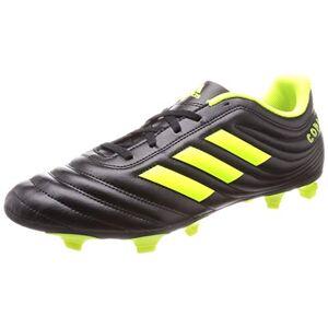 adidas Men's Copa 19.4 Fg Footbal Shoes, Black (Core Black/Silver Met./Solar Yellow), 8.5 UK (42 2/3 EU)