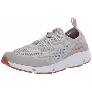 Columbia Men's Vent Walking Shoe, Grey (Grey Ice, Island Orange 063), 10 UK