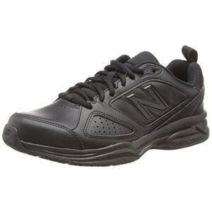 New Balance 624V4, Men's Multisport Indoor Shoes, Black (Black 001), 11.5 UK