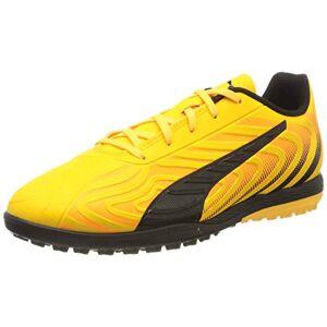 Puma Kids' One 20.4 Tt Jr Football Boots, Yellow (Ultra Yellow Black-Orange Alert 01), 10 UK Child 28 EU