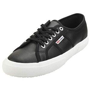 Superga Unisex Adults' 2750-efglu Sneaker, Black (Black 999), 10 UK