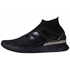 adidas Predator Tango 18+ Tr, Men's Footbal Shoes, Black (Cblack/Cblack/Msilve 000), 10 UK (44 2/3 EU)
