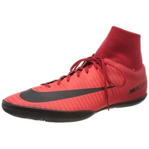 Nike Men's Court Borough Mid Winter Footbal Shoes, Multicolor (University Red/Black-Bright Cr), 9 UK