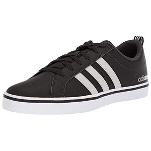 adidas Vs Pace, Men's Basketball Shoes, Black (Core Black/Ftwr White/Scarlet Core Black/Ftwr White/Scarlet), 10 UK (44 2/3 EU)