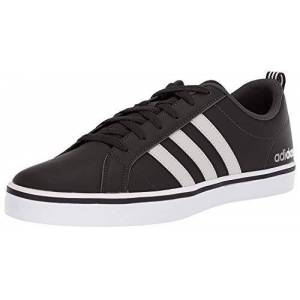 adidas Vs Pace, Men's Basketball Shoes, Black (Core Black/Ftwr White/Scarlet Core Black/Ftwr White/Scarlet), 12 UK (47 1/3 EU)