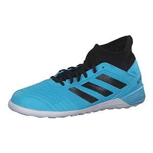 adidas Performance Predator 19.3 Men's Indoor Football Boots Light Blue/Black, 9.5 UK - 44 EU - 10 US