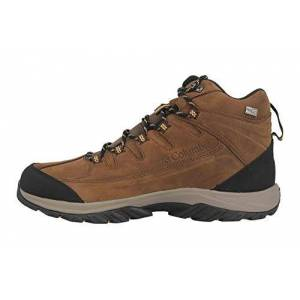 Columbia Men's Terrebonne II Mid Outdry Hiking Shoes, Brown Mud Curry 255, 12 UK