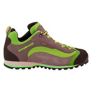 TRANGO Unisex Adults' Shangu Climbing Shoes, Grey (Gris/Verde Claro 003), 10.5 UK