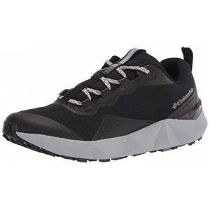 Columbia Men's Facet 15 Hiking Shoe, Black/White, 6 UK