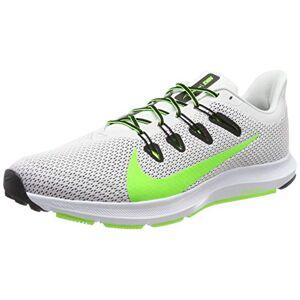 Nike Men's Quest 2 Running Shoes, Grey (Platinum Tint/Electric Green/Black/White 005), 7.5 UK
