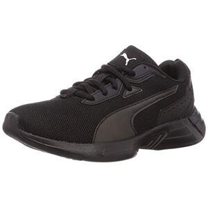 Puma Unisex Adult Space Runner Road Running Shoe, Puma Black-Puma Black-Puma White, 10 UK
