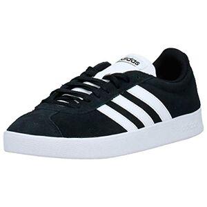 adidas Men's Vl Court 2.0 Skateboarding Shoes, Black (Core Black/FTWR White/FTWR White Core Black/FTWR White/FTWR White), 10 UK