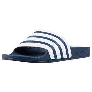 adidas Adilette, Men's Beach & Pool Shoes, Blu (Adiblue G1/White/Adiblue G1), 6 UK