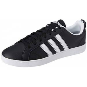 adidas Adidas Advantage Vs F99254, Men's Low-Top Sneakers, Black (Core Black/Ftwr White), 10 UK (44 2/3 EU)