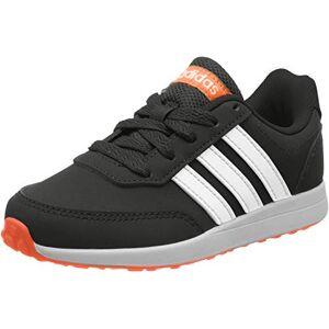 adidas Unisex Kids' Vs Switch 2 K Running Shoe, Core Black/FTWR White/Solar Orange, 11.5 Child UK