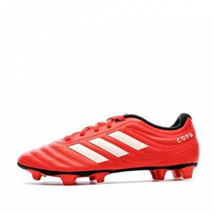 adidas Copa 20.4 Fg, Men's Track Shoe, ACTIVE RED / FTWR WHITE / CORE BLACK, 10 UK (44 2/3 EU)
