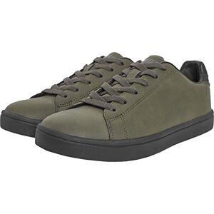 Urban Classics Unisex Adults' Summer Sneaker, Multicolour Olive Black, 10.5 UK