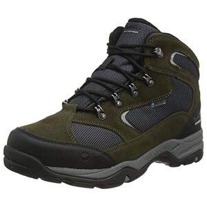 Hi-Tec s Storm WP Walking Shoe, Olive Night/Black/Charcoal, 10 UK