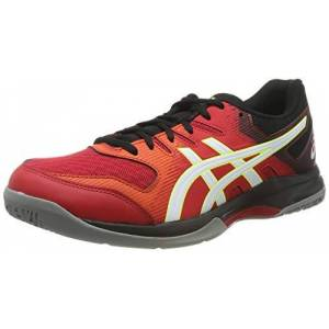 ASICS Men's Gel-Rocket 9 Multisport Indoor Shoes, Red (Speed Red/White 600), 7.5 UK