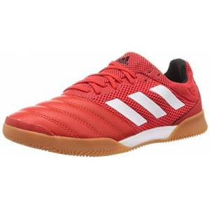 adidas Men's Copa 20.3 in Sala Track Shoe, Active RED/FTWR White/CORE Black, 10 UK