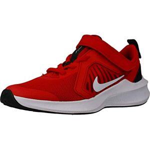 Nike Unisex Kid's Downshifter 10 (PSV) Running Shoe, University Red/White-Black-White, 1.5 UK