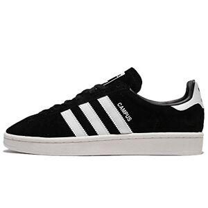adidas Campus, Men's Gymnastics Shoes, Black (Core Black/Ftwr White/Chalkwhite), 13.5 UK (49 1/3 EU)