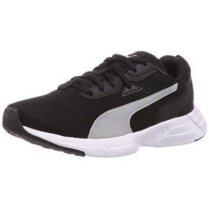 Puma Unisex Adult Space Runner Road Running Shoe, Puma Black-Puma White, 10 UK