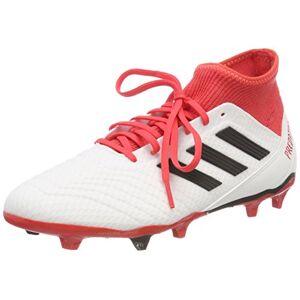 adidas Men's Predator 18.3 Fg Footbal Shoes, White (Ftwwht/Cblack/Reacor Ftwwht/Cblack/Reacor), 8.5 UK