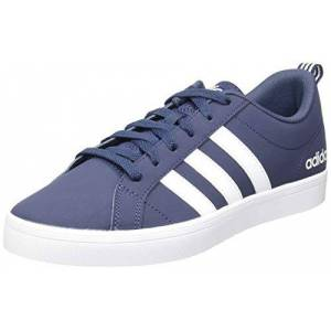 adidas Men's Vs Pace Gymnastics Shoe, Trace Blue Footwear White Core Black, 7.5 UK